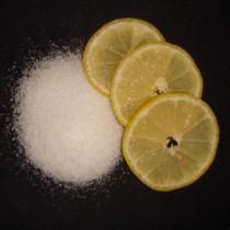 Citronsyre i flere størrelser