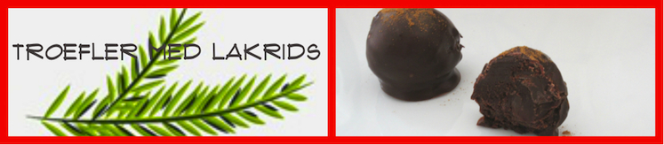 Trøffler med lakrids